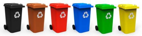 Мусорные баки. Виды и типы мусорных контейнеров в России