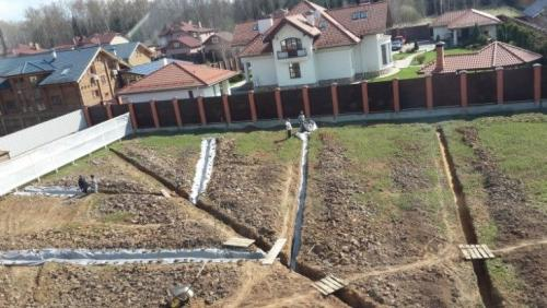 Как отвести воду с участка дешевый способ. (+30 фото) Как отвести воду с участка дешевый способ